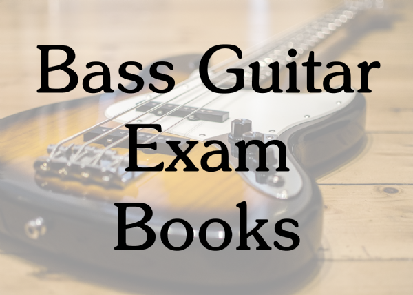 Bass Guitar Exam Books